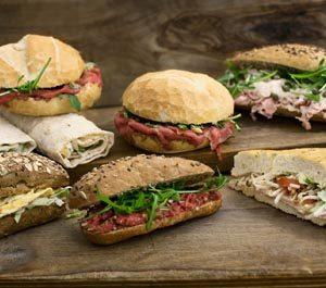 Verbazingwekkend Belegde Broodjes Bestellen - Ambachtelijk & Lekker | Slagerij Meester CZ-84