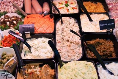 paté/salades