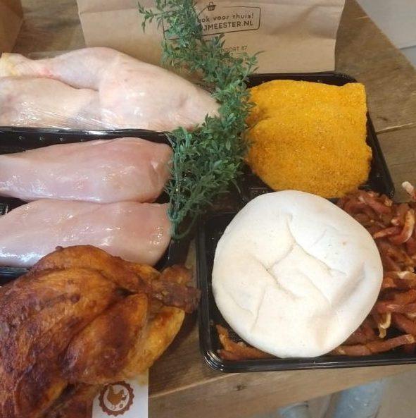 Aanbieding kip pakket 22,50 euro